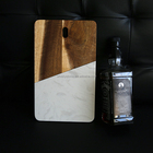 New Design Home Kitchen Cutting Board Wooden and Marble Cheese Board Table Server