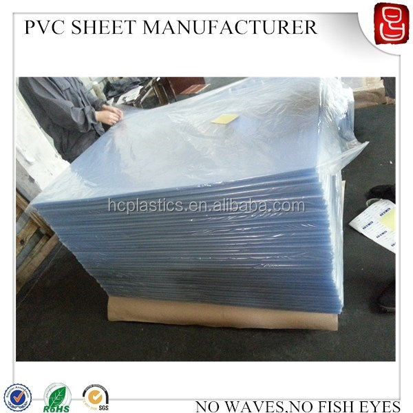 pvc plastic sheet manufacturer Rigid Clear extruded PVC sheet