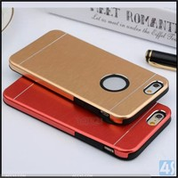 TPU+Metal Back Cover For iPhone 6 Case, Metal+TPU Case Housing For iPhone 6/6s Case, Metal TPU Combo For iPhone 6 Case