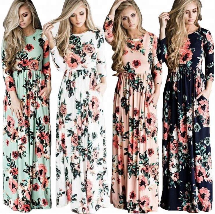 b24627e29f3 China Long Sleeve Dress