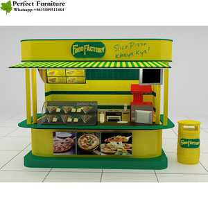 High-end mall kiosk manufacturer for sweet corn in cup