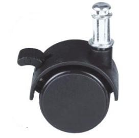 JK series 30/40/50mm friction ring twin wheel caster furniture hardware
