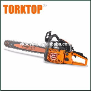 Chinese cheap 2 stroke gasoline chain saw , 5800 chainsaw with 18''/20''/22'' guide bar