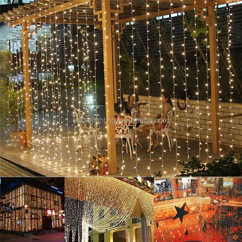 shop ,caffe,restaurant decoration,rain drop led curtain light