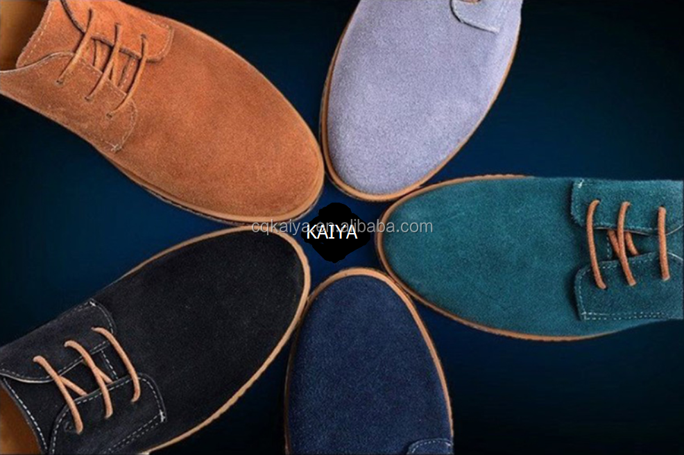 Spring Autumn suede leather casual shoes for <strong>men</strong>