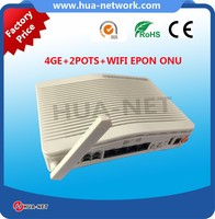 FTTH Solution Eth, WIFI VOIP GEPON ONU