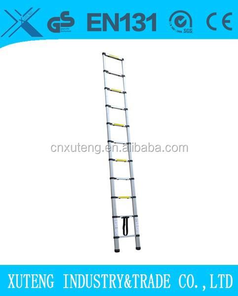 Suspensi n escalera escalera de aluminio plegable for Escalera aluminio plegable