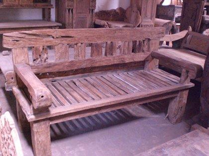 Sofa Primitive Furniture Antique
