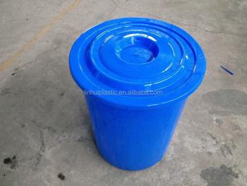50 Litres Round Plastic Vegetable Storage Drum