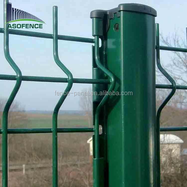 barato pvc recubierto alambre de metal soldado ovejas lmite granja para la venta - Cercas Metalicas