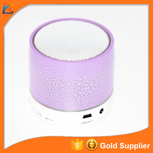 Latest portable subwoofer bluetooth speaker wireless mini speaker with TF card wifi led bluetooth speaker