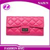 2016 cheap ladies fancy purses New style fancy European fashion Tri-folds leather