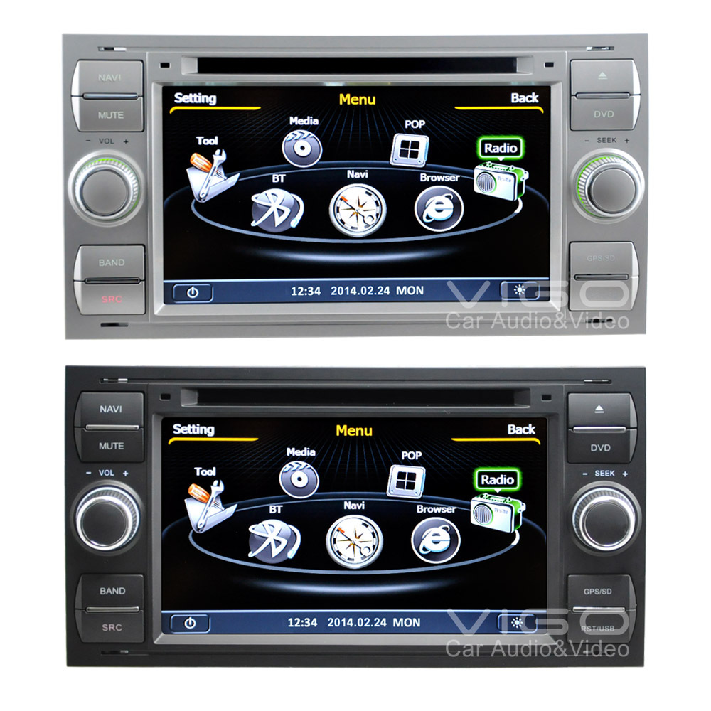 car stereo for ford focus mondeo s max fiesta galaxy transit kuga c max gps. Black Bedroom Furniture Sets. Home Design Ideas