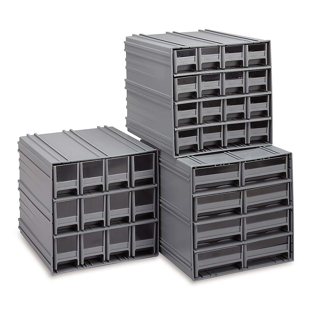 "Quantum Dividers For Interlocking Parts Storage Cabinets - Fits Cabinets 4495400, 4495700, 4496600, 4497400 - 3-5/16"" High"
