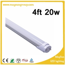 CE RoHs approved high lumen led japanese light 4ft 20w tube t8 1200mm led tube light
