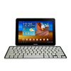 ABS 78 keys custom keyboard 2*AAA battery bluetooth keyboard for galaxy tab s2
