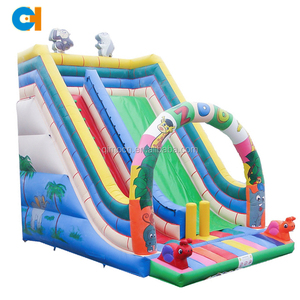 Cheap price commercial lake inflatable water slides for sale in summer inflatable game