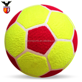 be2496d00d71c Divertido innovadoras fútbol buscando personalizado impresa pelotas de tenis  para jugar