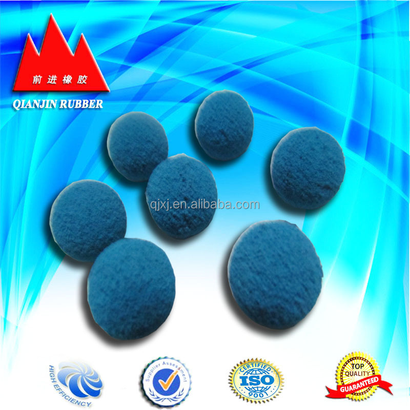 rubber components blue rubber ball