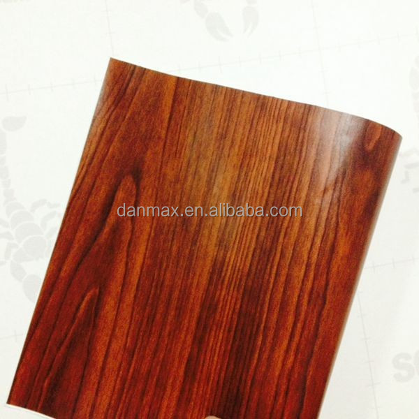 wrap in car interior vinyl film wood design decorative paper