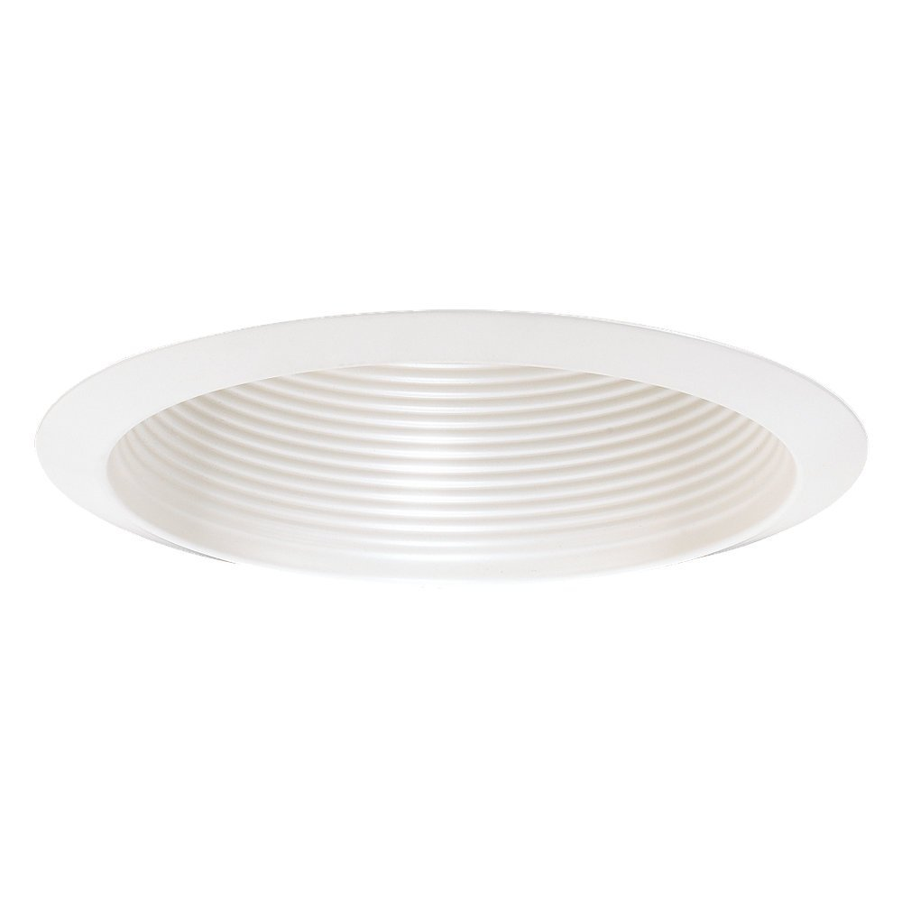 Sea Gull Lighting 1154AT-14 Airtight Recessed Incandescent Fixture Trim for Wet Location, White