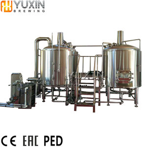 Mini brewery equipment used 500l 1000l mash tun & lauter tun
