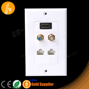 High quality RCA F HDMI RJ45 Wall Socket