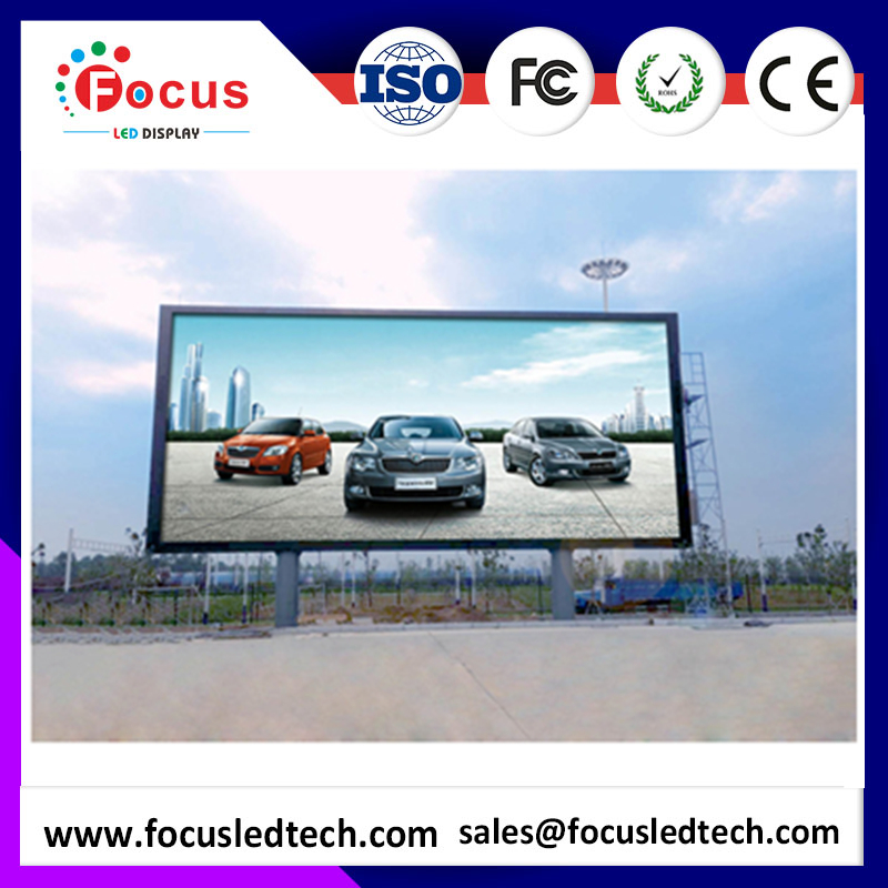 Perfect Vision Effect P10 panel Big led advertising Screen