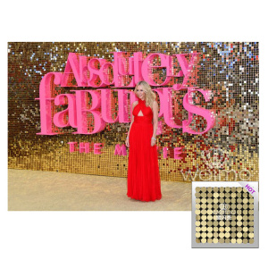 Air Moving Decorative Sequin Disc Wall Panel