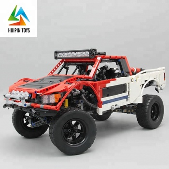 Four Wheel Drive Building Block Electric Cross Country Rc Car With Battery