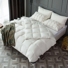 White Goose Feather And Down Quilt 13.5 Tog King Size 230x220cm 100% Cotton Duvet Down Proof Fabric