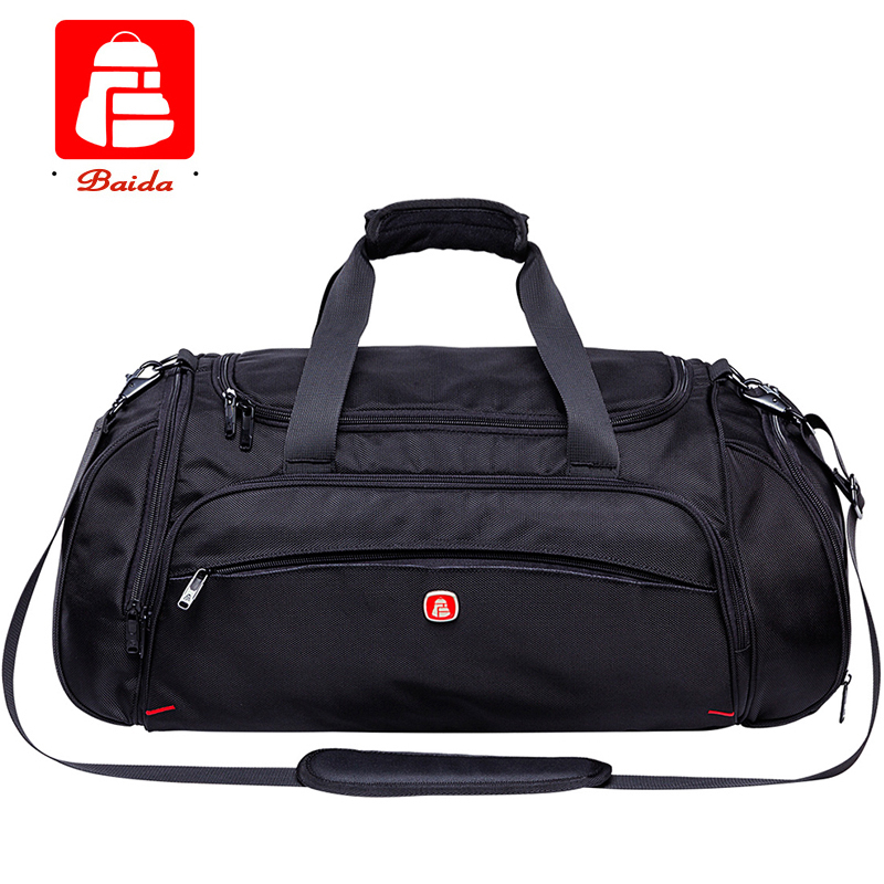 Brand Large Capacity Mobile Bag Business Men Women Shoulder Bag Sport Duffle Luggage Bag Travel Packages Outdoor Travelling Bags