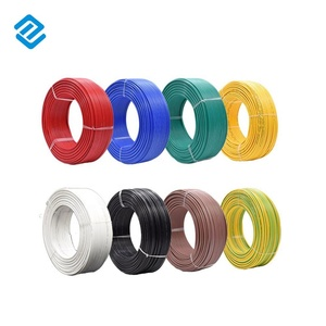 1.5 MM Copper Heat Resistant PVC Insulated Non-Sheathed Flexible Electrical Wire 450/750V Roll Length