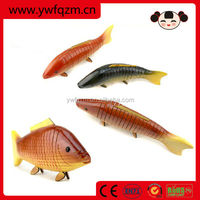 26,31 cm decorative hand carved wood fish