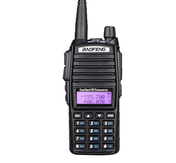 Atacado BAOFENG ht UV-82 5 W two way radio walkie talkie interphone incluem fone de ouvido