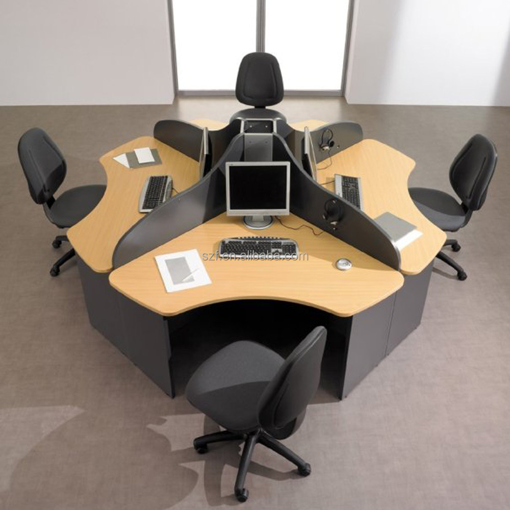 Stani Furniture La Round Office Parion Work Station Sz Wst641 Product On