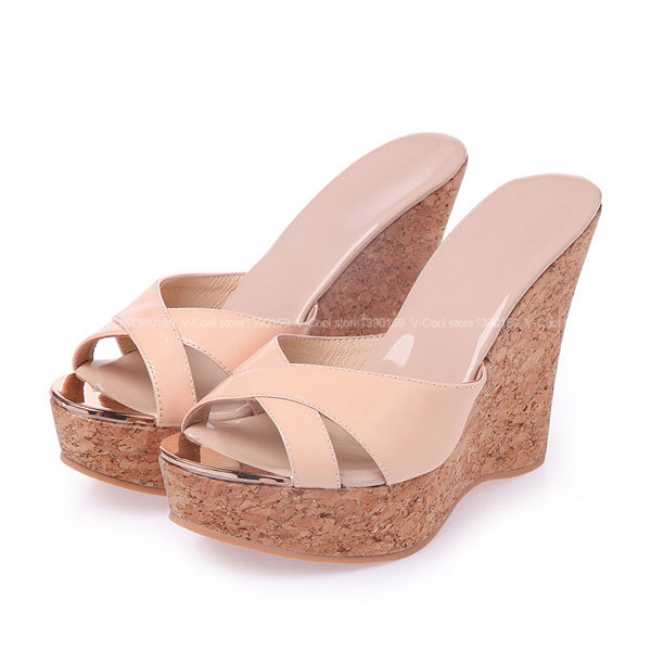 531560874c97b0 Pink Platform Sandals Sexy Ladies Summer Beach Sandals Fashion Slip On  Female Open Toe Brand Shoes Pantufa Sandales