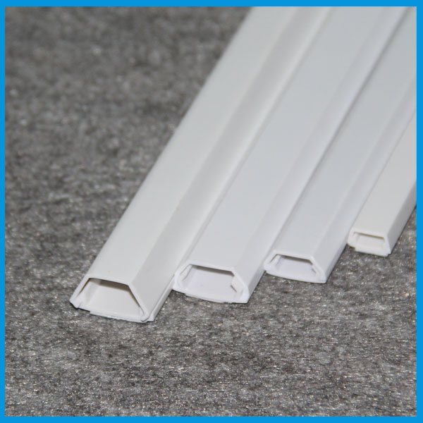 transparent pvc trunking plastic cable duct
