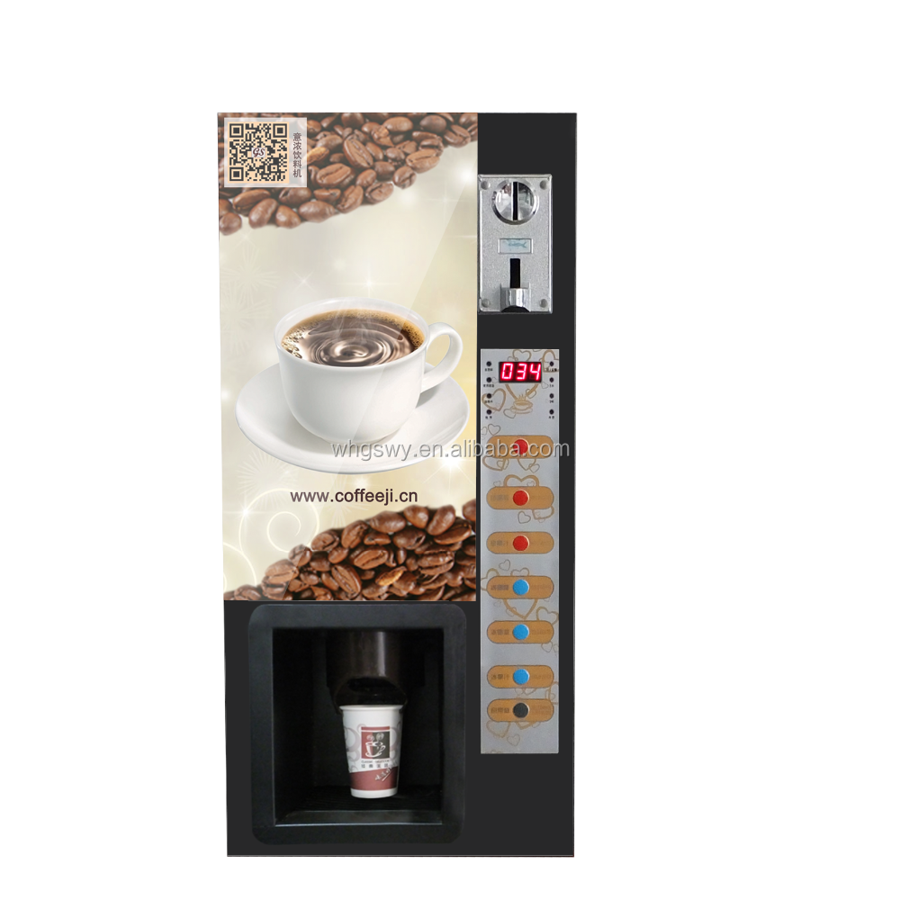 Standing and tabletop type coffee machine GTS103