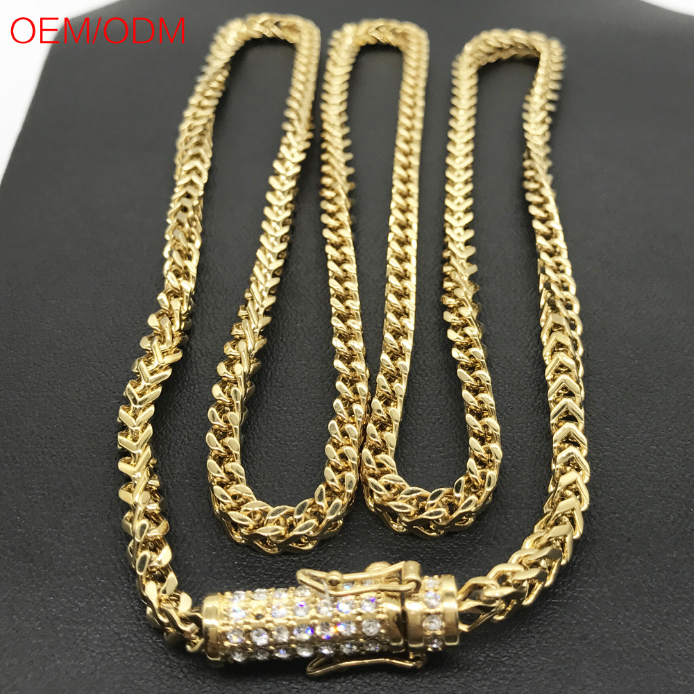 larger mens ideas for about men expensive necklace byzantine chains plated view necklacebracelet l wholesale gold steel stainless