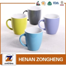 custom promotional cheap bulk wholesale 11 oz modern belly shape stoneware coffee ceramic cups mugs