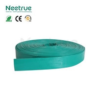 delivery flat for water pump 6 inch soft pvc hoses