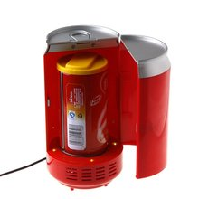Red Cor Gadgets Mini <span class=keywords><strong>USB</strong></span> PC Frigorífico Latas de Bebidas Cooler & Warmer