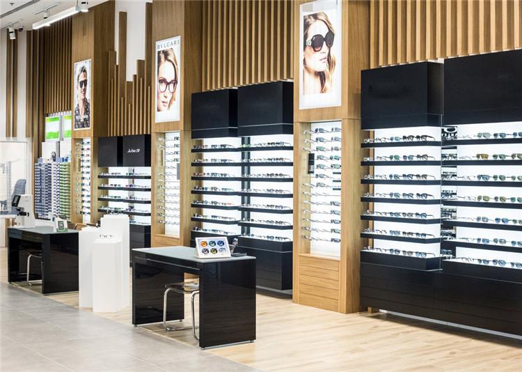 Professional New Interior Optical Store Fixtures Shop