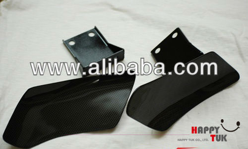 Mitsubishi EVO X Carbon Fiber Brake Cooling Guides