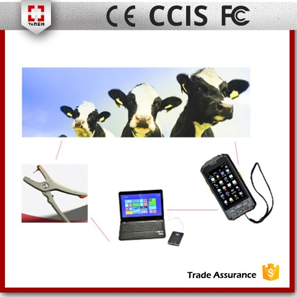 RFID UHF Alien H3 cattle ear tag for cattle sheep management