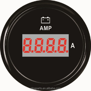 "Digital Ammeter AMP Gauge 80A With Current Sensor 2""(52mm) With Backlight 9-32V"