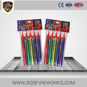 Import happy birthday fireworks cold flame color cake fireworks for sale