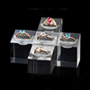 fashion high end acrylic ring display case /plexiglass jewelry stand for ring display