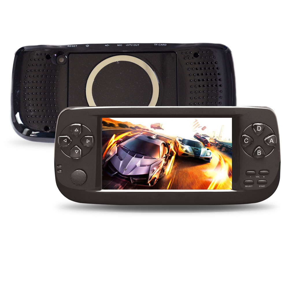 Ultra Handheld Game Player 4.3 Inch 3000 Retro Game Console PAP-KIII 16GB Video Game Consoller, Black /white
